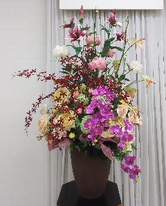 アートフラワーで装花