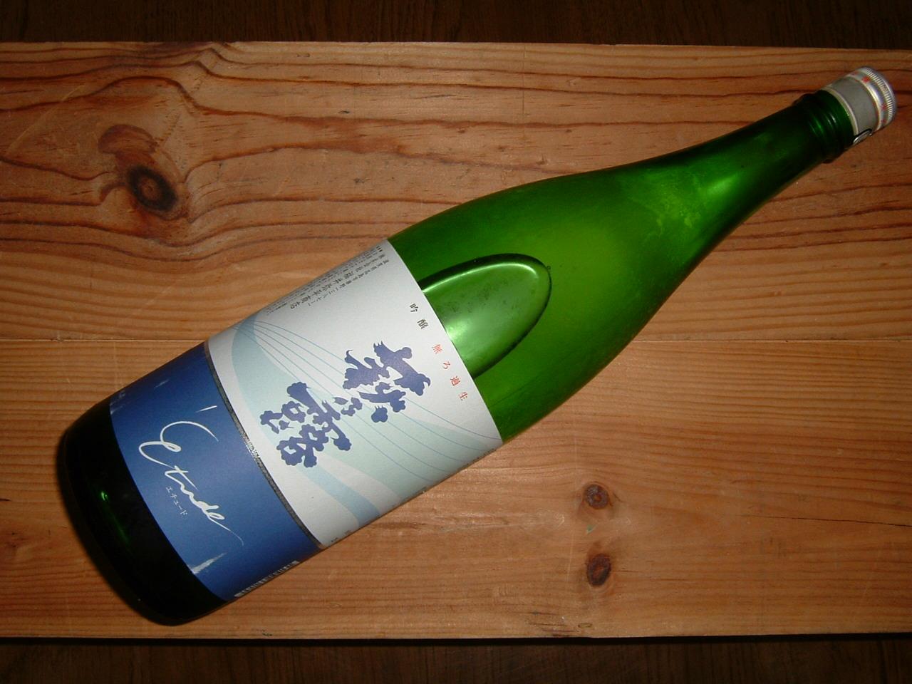 萩乃露エチュード無濾過生原酒1800ml