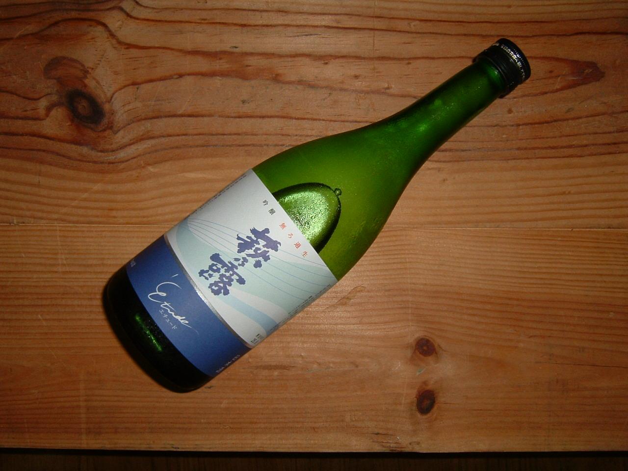 萩乃露エチュード無濾過生原酒720ml