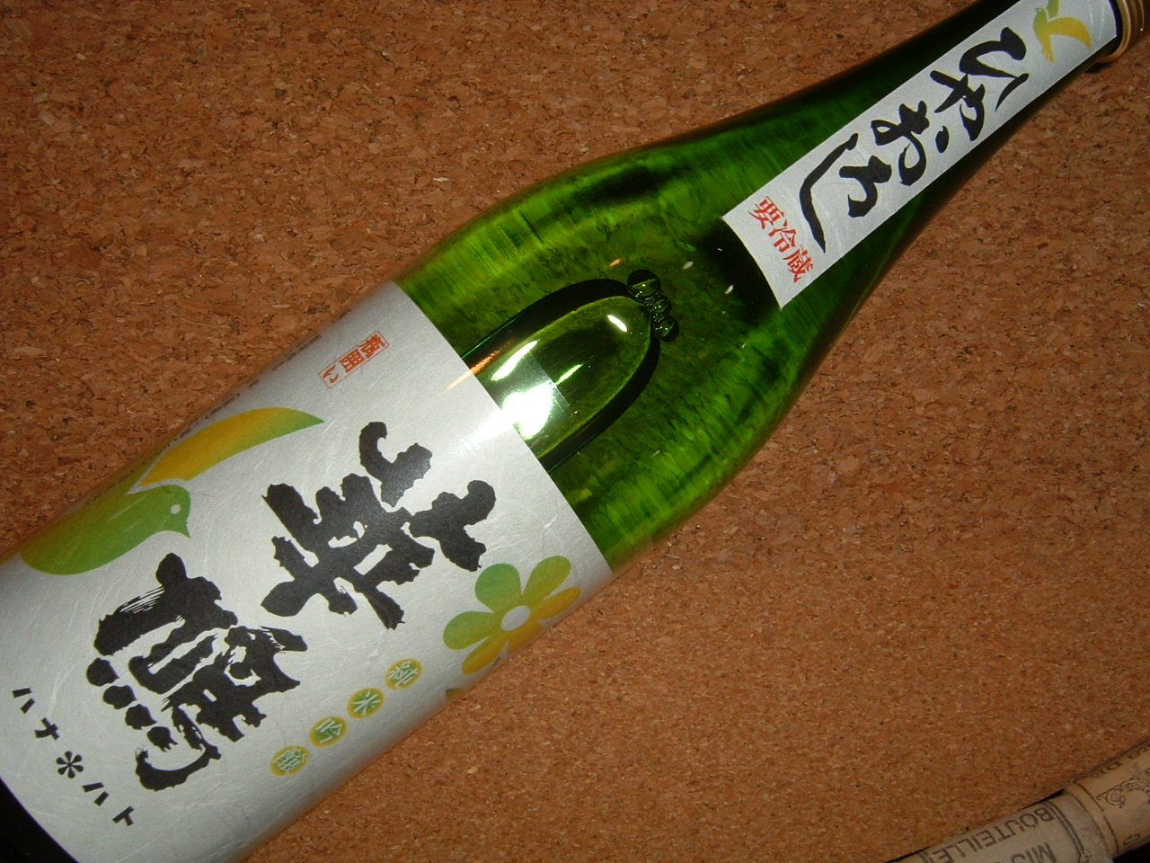 華鳩こいおまち純米吟醸瓶囲いひやおろし720ml