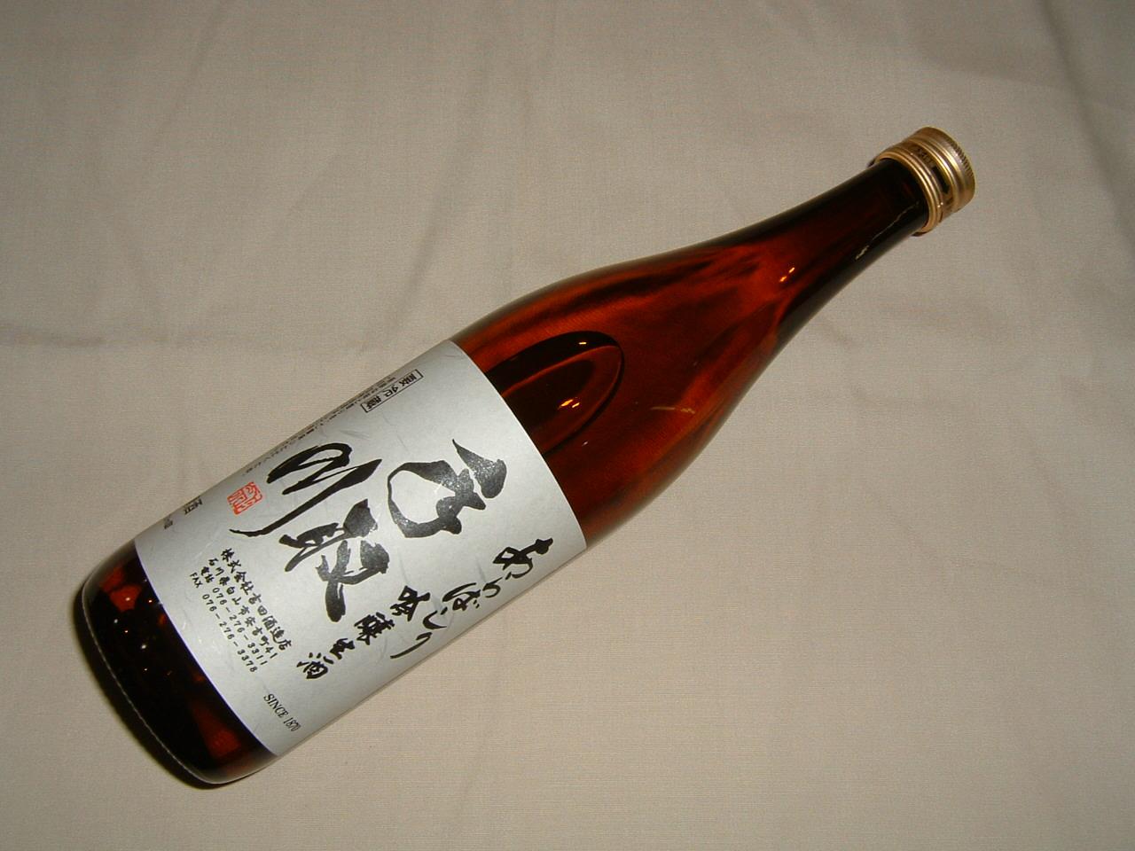 手取川あらばしり大吟醸生酒720ml