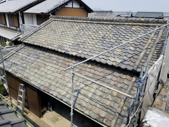 既存瓦葺屋根