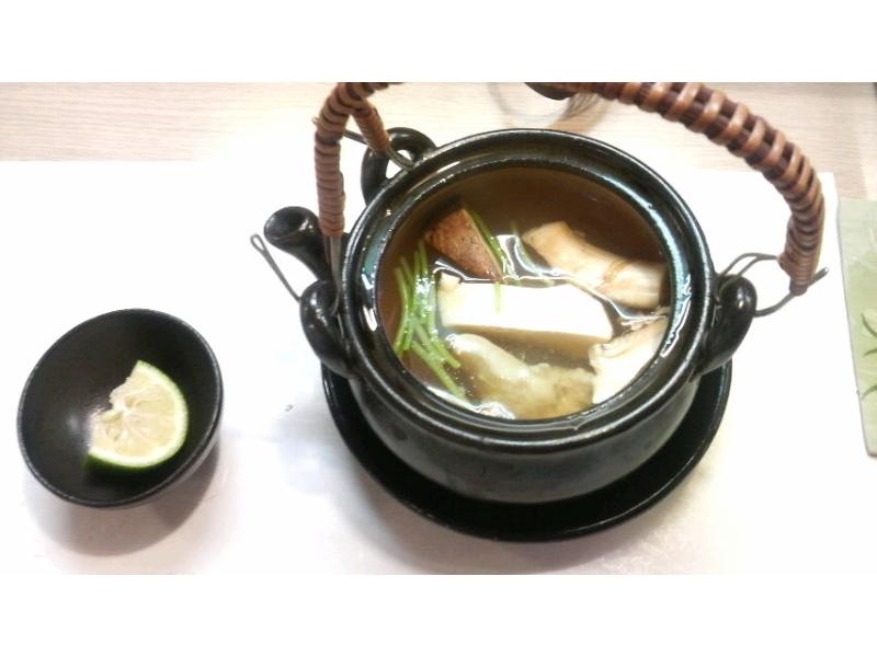 松茸-土瓶蒸し