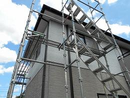 昇降階段設置