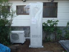 エコキュートの施工例(千葉県習志野市)