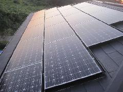 太陽光パネルの施工例(千葉県市原市)