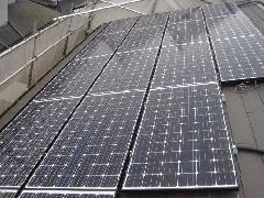 太陽光パネルの施工例(千葉県八千代市)