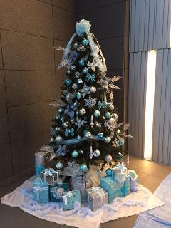 クリスマスツリー 設置工事