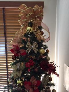 クリスマスツリー設置 2