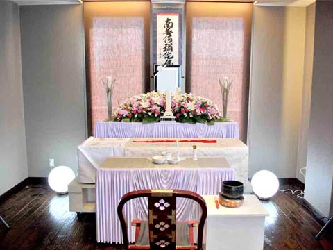 泰心館・サザンカの祭壇