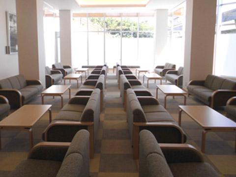 河内長野斎場の待合室