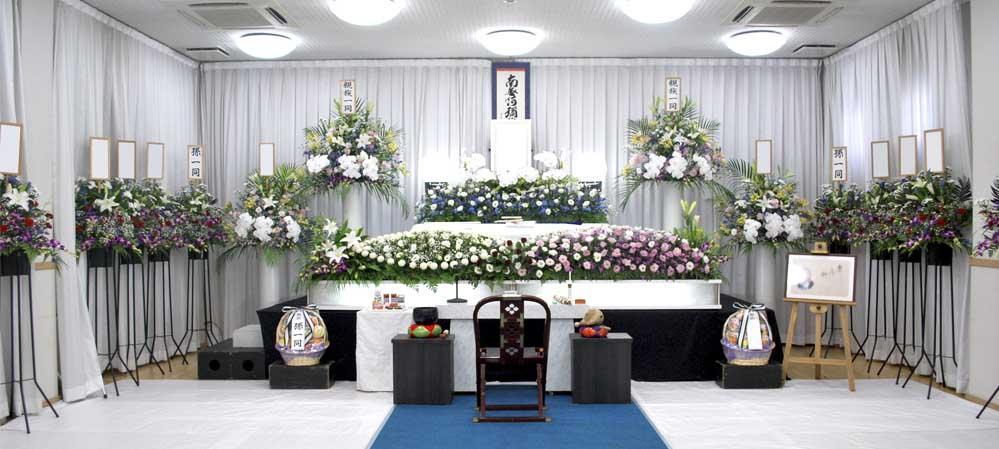 集会場での葬儀