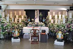 西栄寺での 一般葬