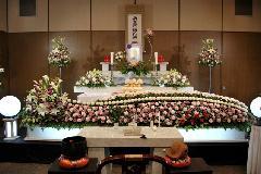 北斎場(中式場)【親族15名】でのお葬式