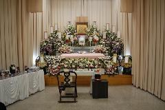 堺斎場(第3式場)【親族20名・一般20名】でのお葬式
