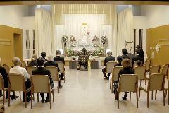 堺市立斎場 参列15名 平30年12月
