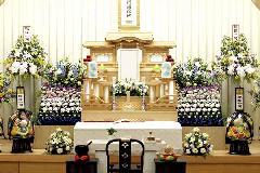 堺市立斎場 参列40名 平31年4月