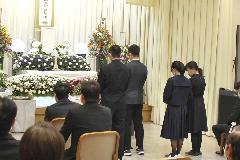 堺市立斎場 参列20名 令和2年5月