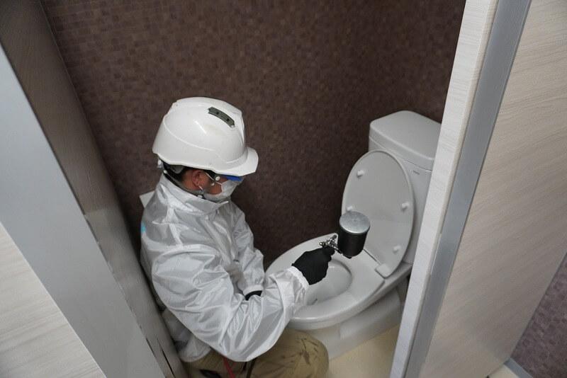 千里経営サポート様 摂津市 「トイレ」