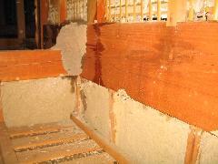 2階床組材(胴差)の被害