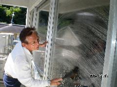 オフィス 店舗 ガラスクリーニング