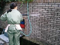 外壁 高圧洗浄 クリーニング