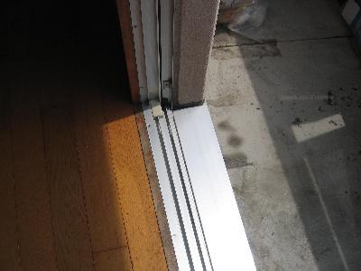 これが窓サッシのプロのおそうじです。