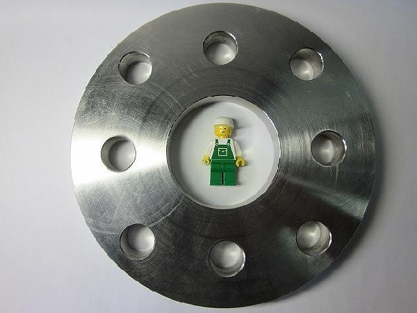 【SUS304】 ボルト穴追加工 10K 65Ax50A