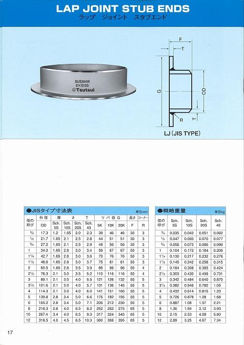 316L ラップジョイント(10K用)