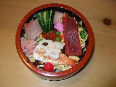 上ちらし寿司 1人前
