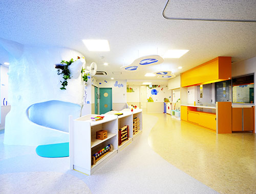 東京都認証保育園 内装 施工デザイン