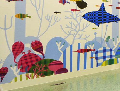 東京都認証保育園[こどもトレイン保育園/江戸川区船堀] 保育園の内装