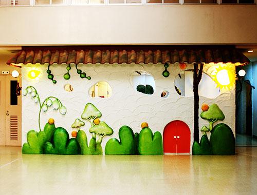 金の星幼稚園(神奈川県横浜市)保育園の内装