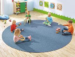52079 プレイカーペット・ミネラルブルー(2m×2m)