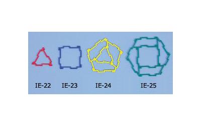 IE-23  ジオフィクス コンポーネント四角形 60ピース入