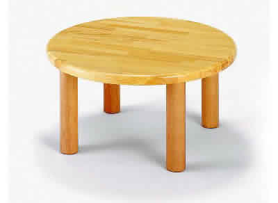 AE-27-b 丸テーブル60<H33> 室内家具・遊具