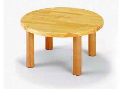 AE-27-e 丸テーブル60<H35> 室内家具・遊具