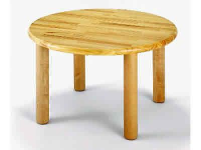 AE-22-c 丸テーブル75<H43> 室内家具・遊具