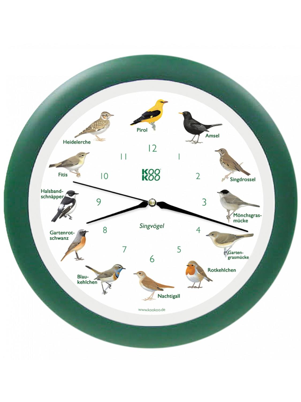 KO-1  鳴き声時計(森の鳥)