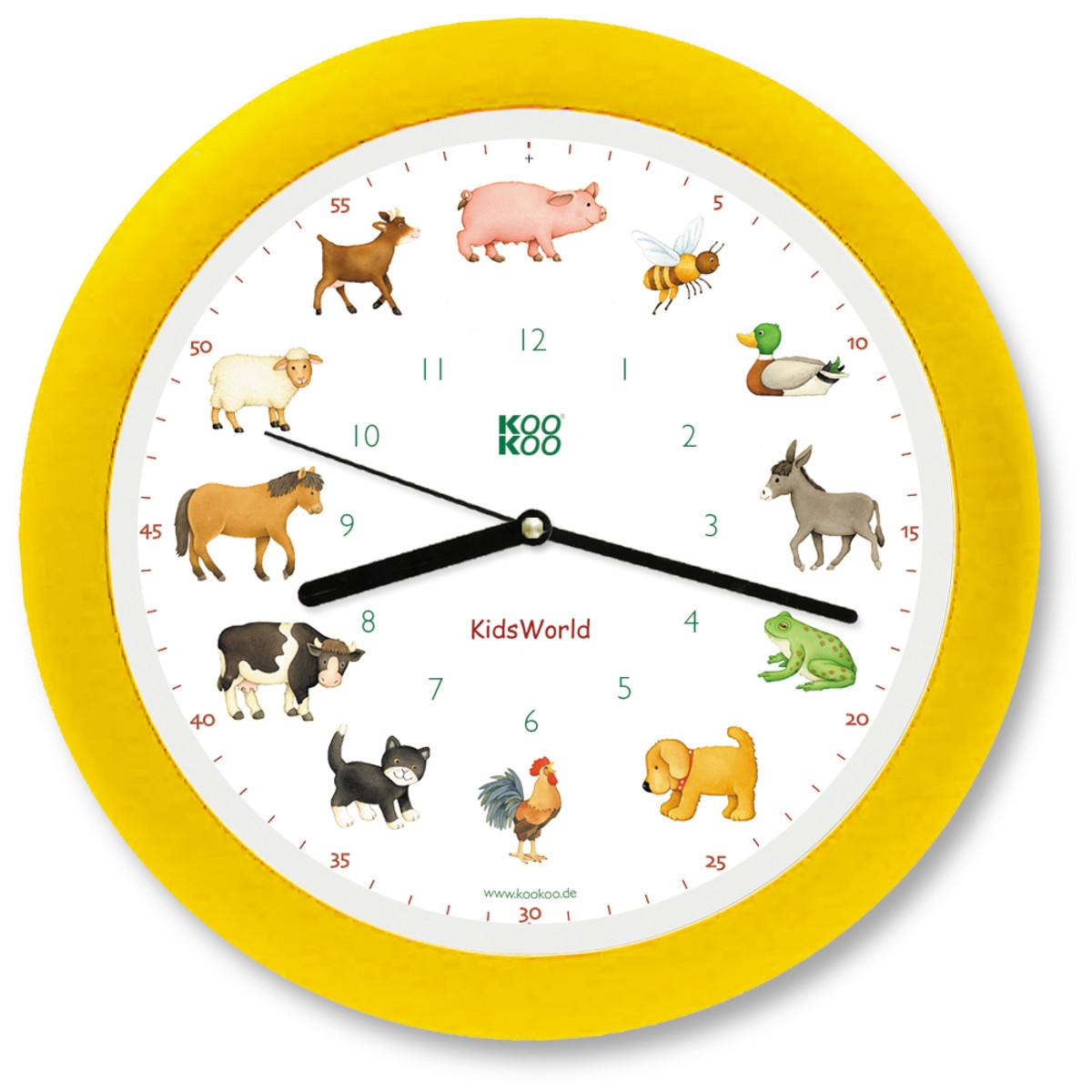 KO-2  鳴き声時計(動物)