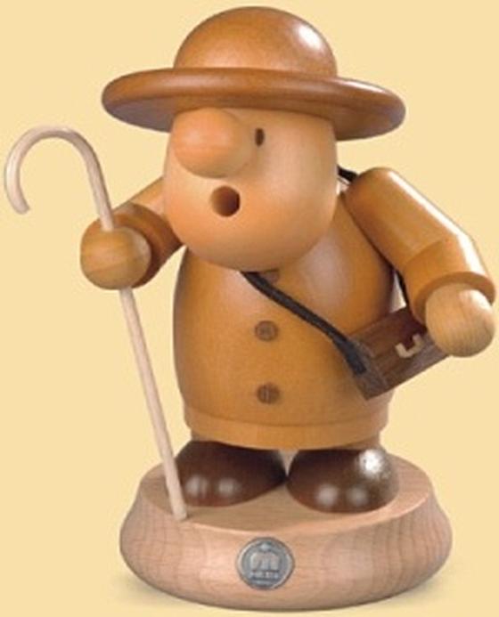 16400  小さな煙だし人形羊飼い 【ドイツの伝統工芸・お香】