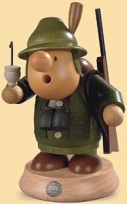 16412  小さな煙だし人形 森の番人 【ドイツの伝統工芸・お香】