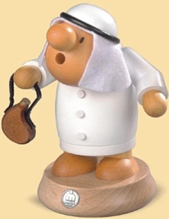 16450  小さな煙だし人形 アラビア人 【ドイツの伝統工芸・お香】