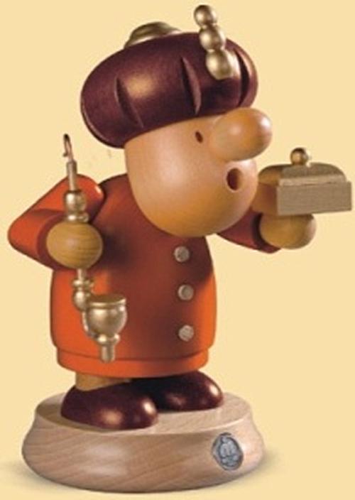 16482  小さな煙だし人形 東方の博士 【ドイツの伝統工芸・お香】
