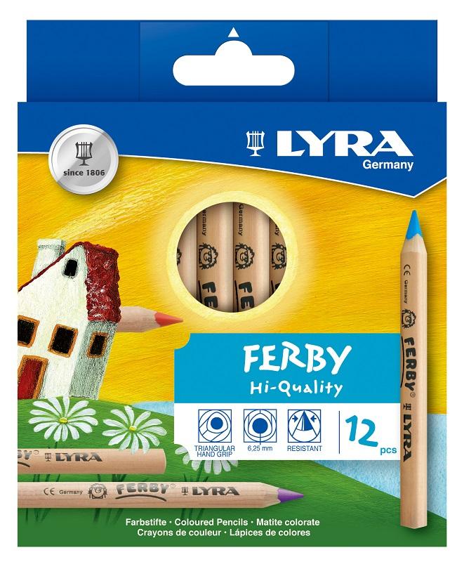 LY3611120 ファルビー軸白木 12色セット