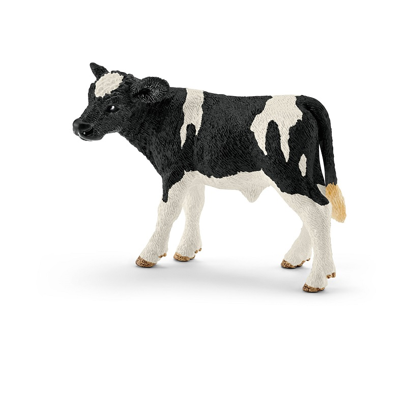 SC13798 ホルスタイン牛(仔) シュライヒ・ミニチュア動物シリーズ