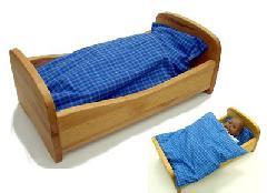 NV420-B ベッド布団付き、ブナ材