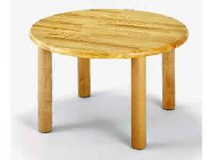 AE-22-e 丸テーブル75<H35> 室内家具・遊具
