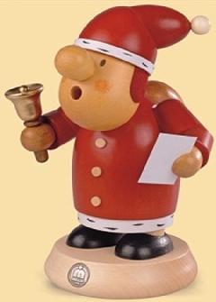 16432  小さな煙だし人形サンタ【ドイツの伝統工芸・お香】