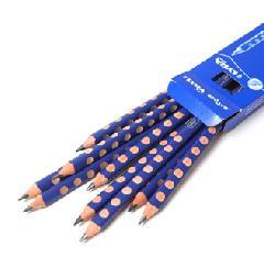 LY1870101 リラ社・Bグラファイト黒鉛筆 1ダース(12本入り)